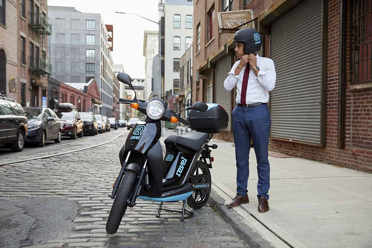 Revel, the First-Ever Electric Moped Rideshare Service Comes to NYC