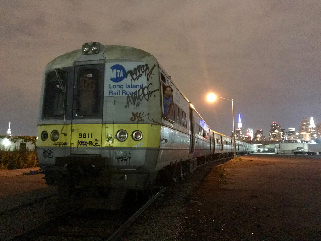 Secret Send-off Party for Abandoned LIRR Train