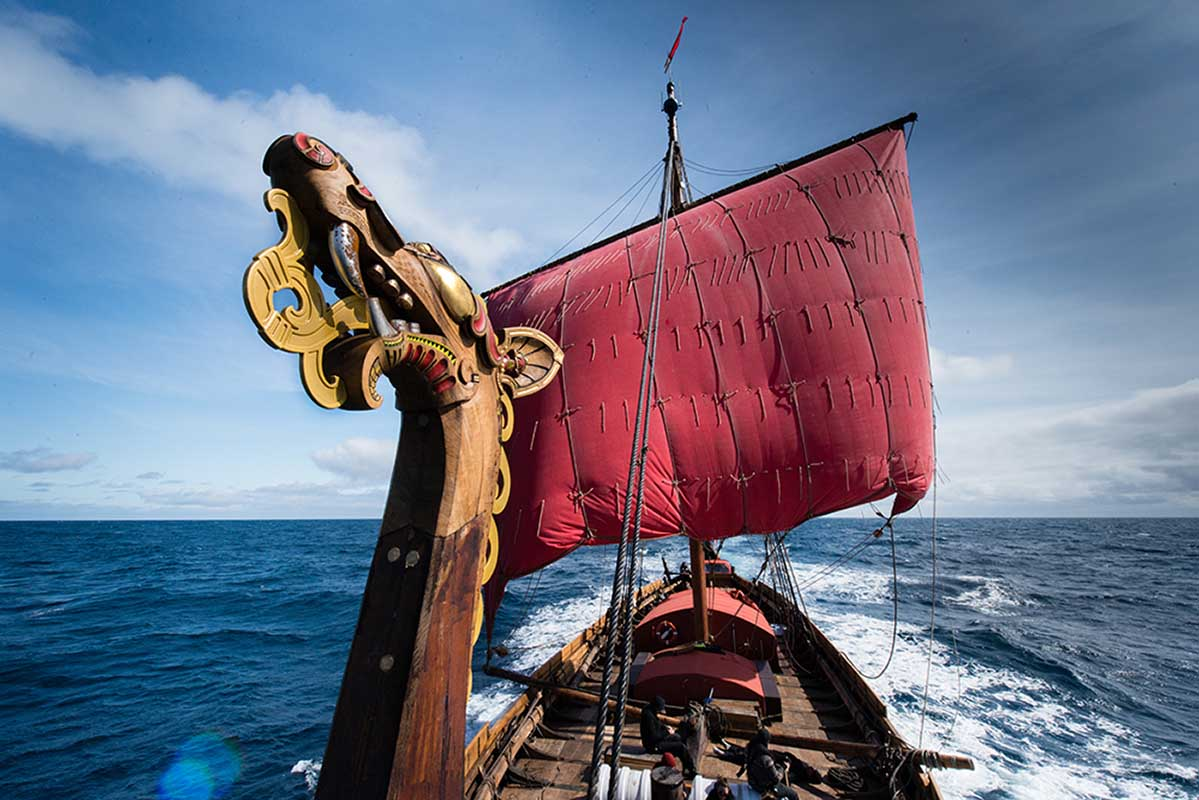 A Viking Ship, Draken, is Coming to Greenport, New York