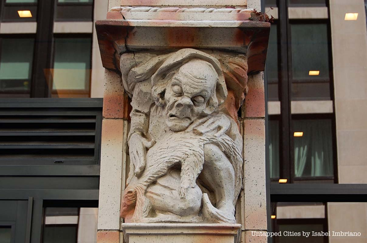 10 Creepy Gargoyles and Grotesques in NYC