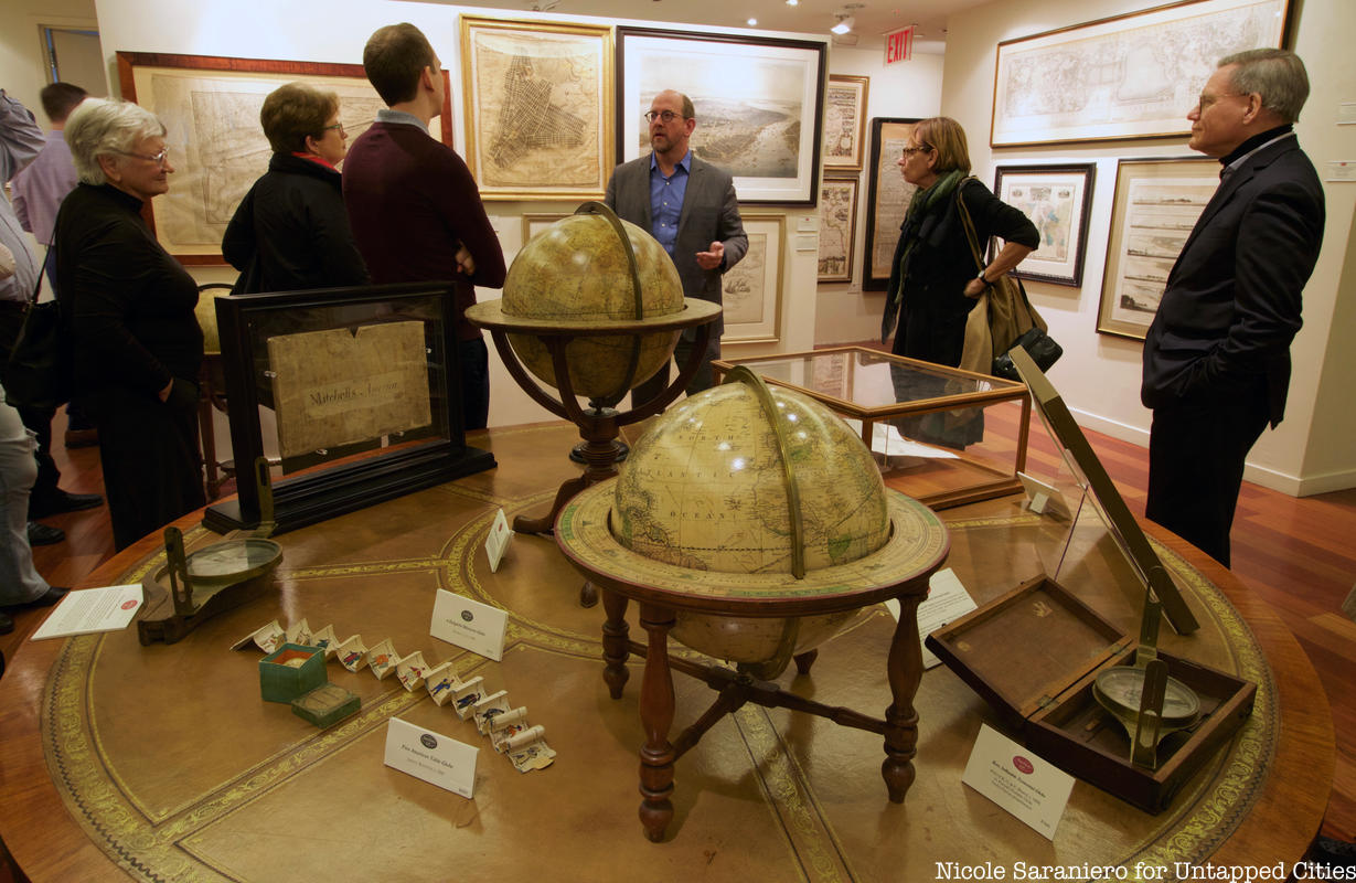 "Photos: Highlights from the Rare NYC Maps Exhibit ""New Amsterdam to Metropolis"""