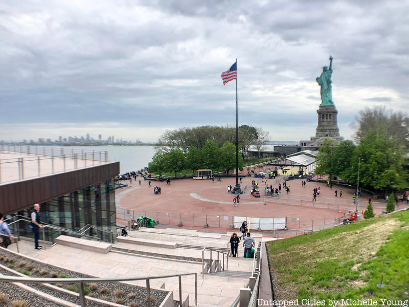 View from Statue of Liberty Museum