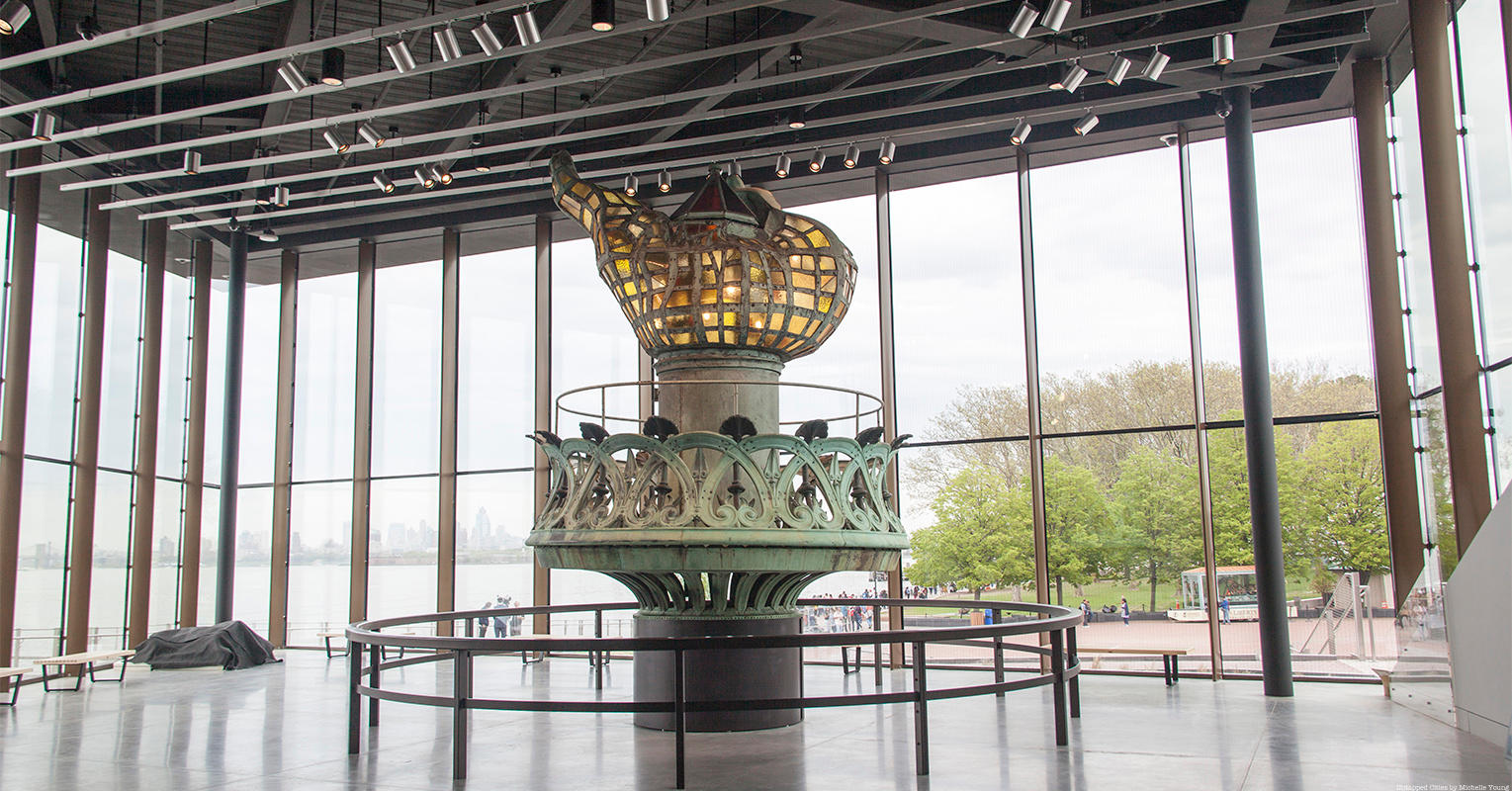 Take a Look Inside the New Statue of Liberty Museum on Liberty Island