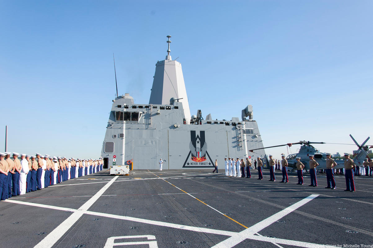 10 Fun Facts about the USS New York Here in NYC for Fleet Week 2019