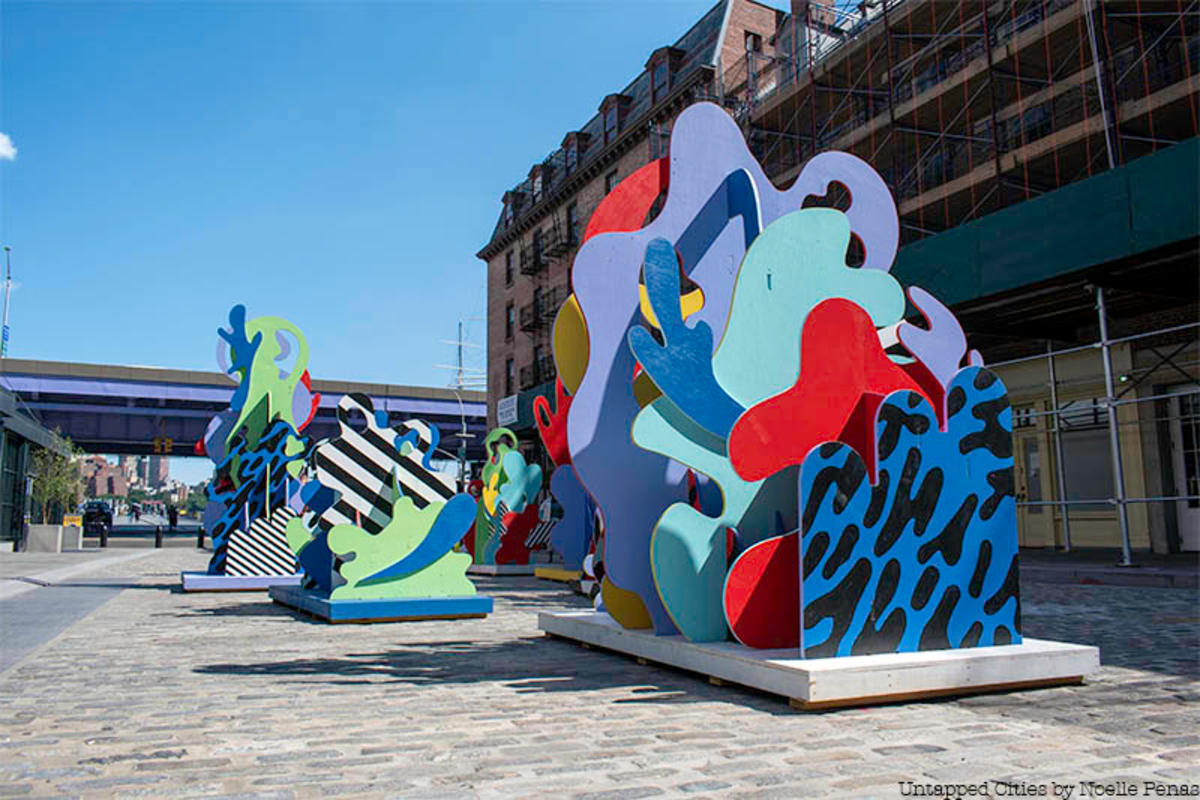 9 New Outdoor Art Installations Not to Miss in NYC July 2019