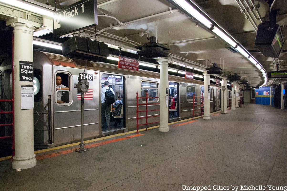 Last Day to Check Out 42nd Street Shuttle Before Major Renovation Begins