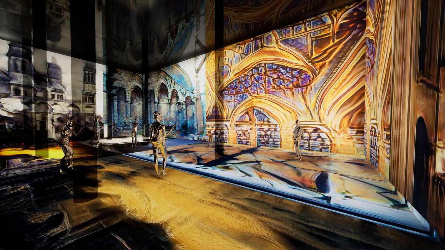 Experience a New Hidden Art Space Underneath Chelsea Market