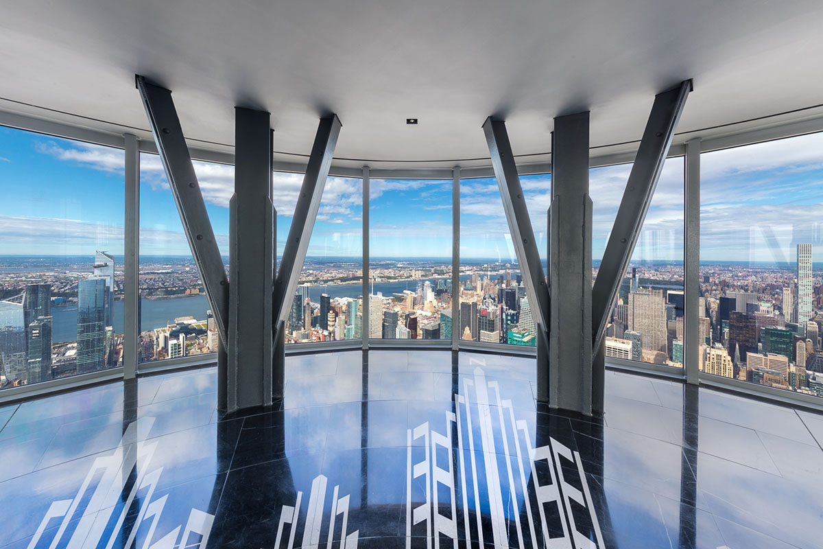 Inside the New 102nd Floor Observatory on the Empire State Building