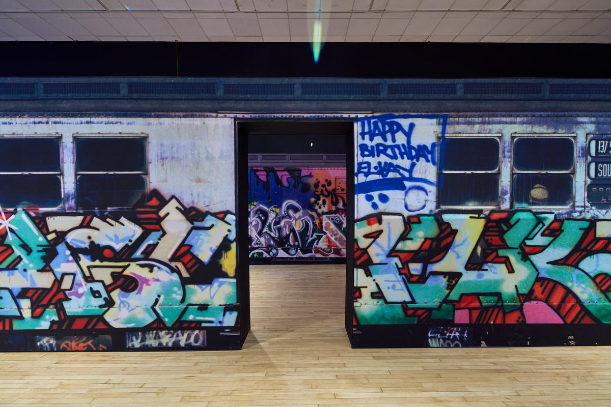 Tour a Photo Exhibit of Graffiti-Tagged NYC Subway Trains at the Bronx Museum