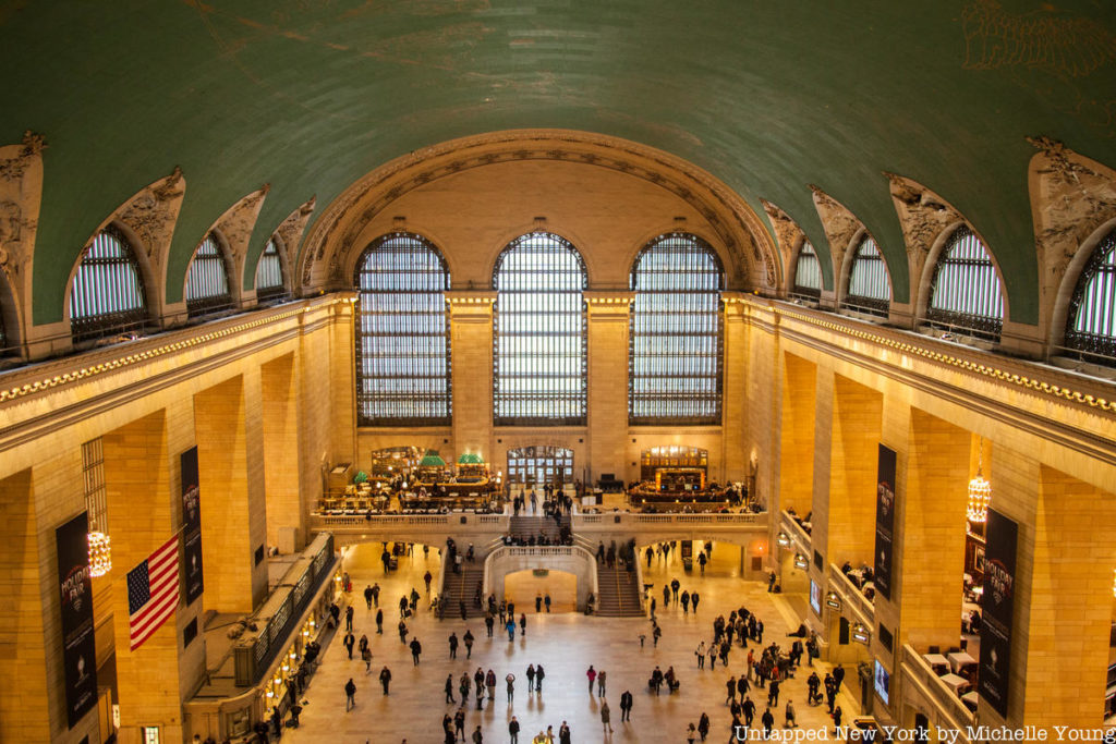Grand central aerial