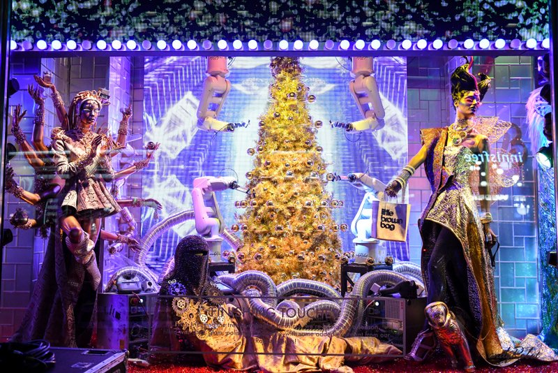 Bloomingdales Christmas Windows 2020 6 Stunning NYC Holiday Windows to Take In This Year   Untapped New
