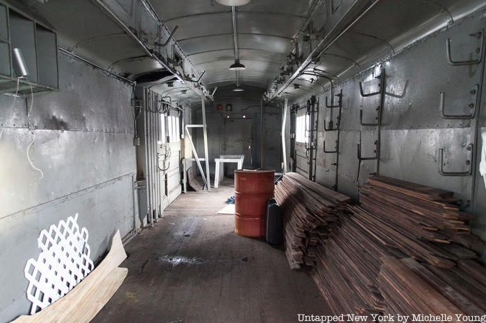 Interior of the MCNW-002 FDR train car
