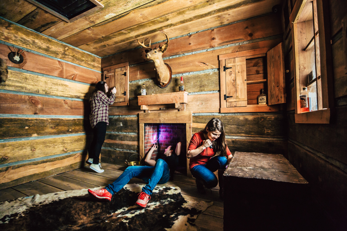 Inside the Gold Rush escape room