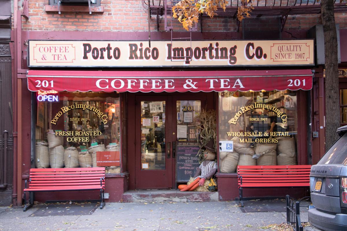 Porto Rico Importing Company exterior