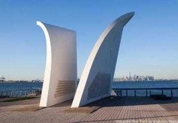 Postcards memorial on Staten Island
