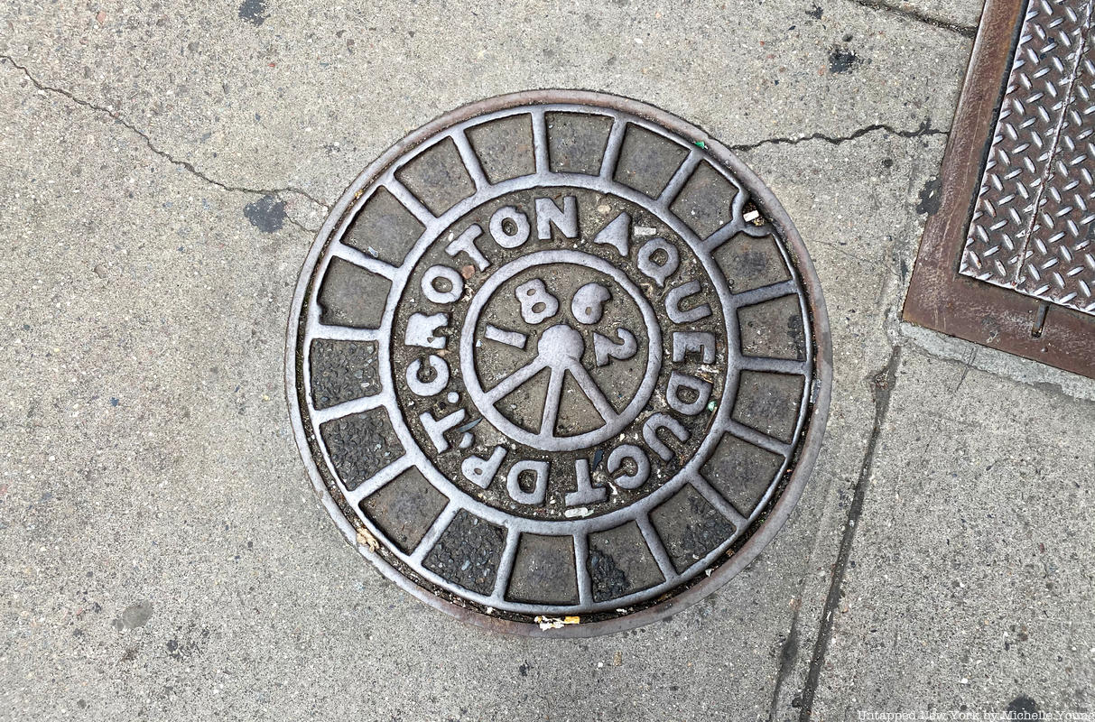 1862 Oldest Manhole in NYC Croton Aqueduct
