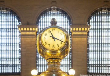 Grand Central Clock information booth