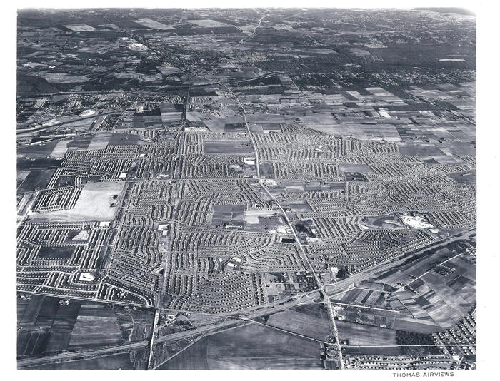 Levittown Wide Aerial Long Island
