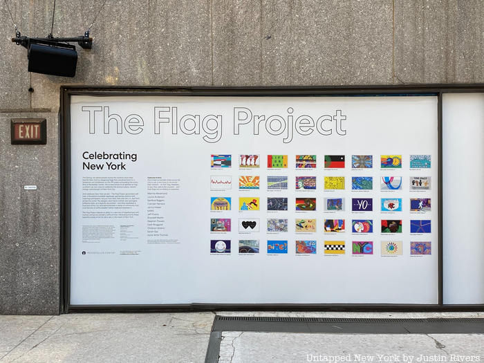 The Flag Project at Rockefeller Plaza