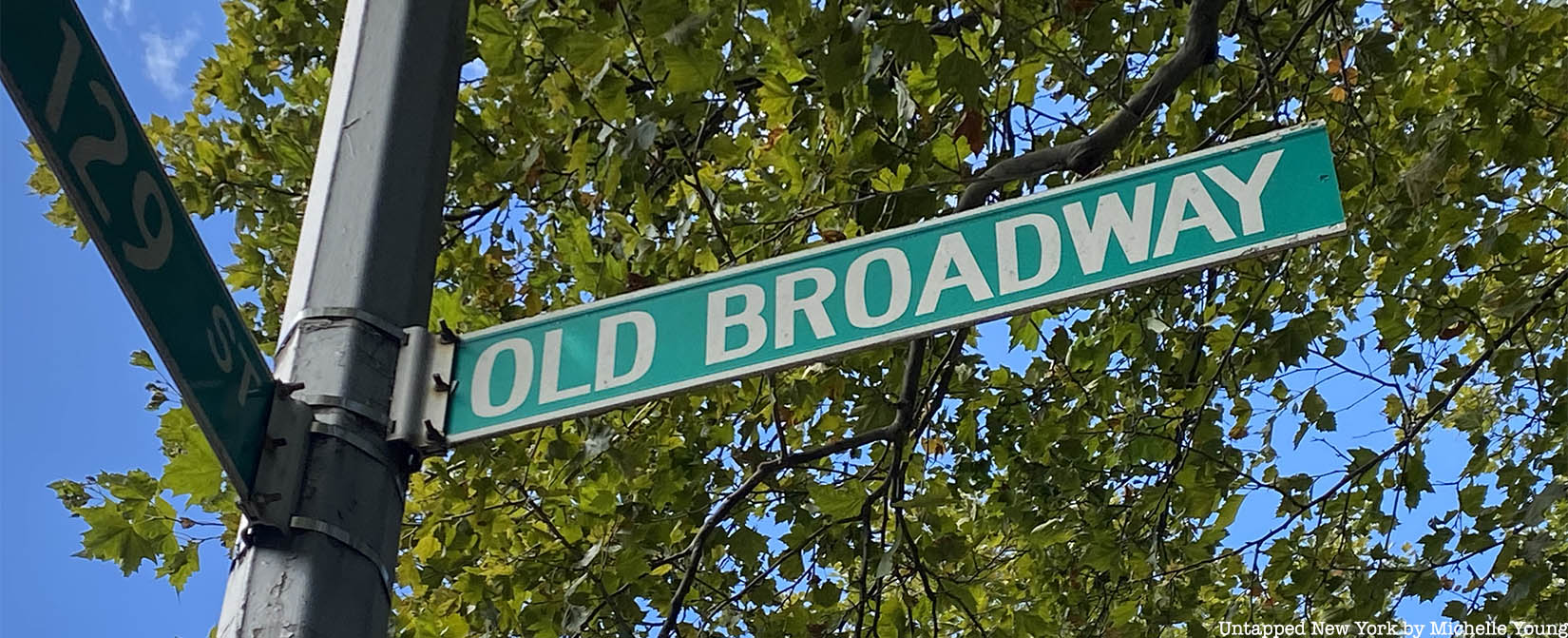 Old Broadway street sign