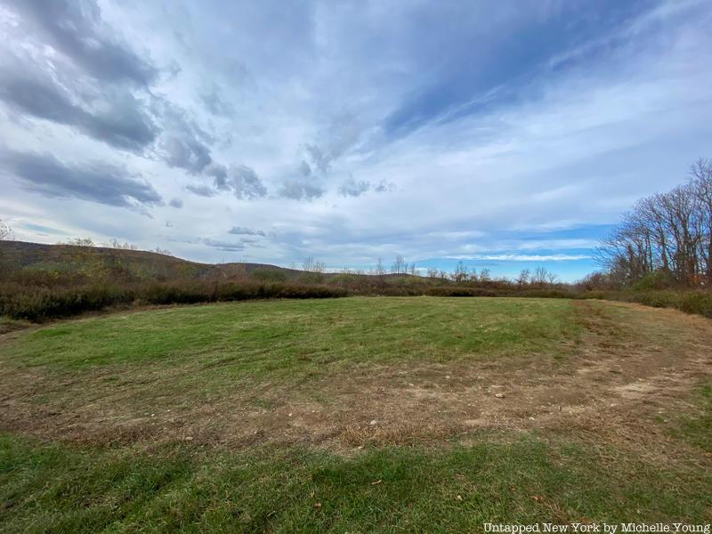 Empty field in Donald J. Trump State Park
