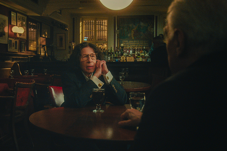 Fran Lebowitz in the Players Club