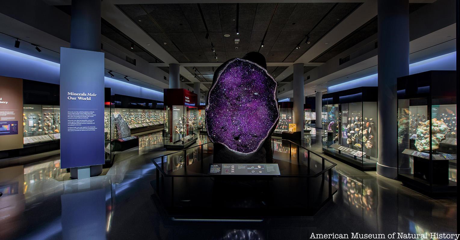AMNH Minerals Hall